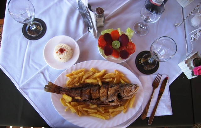 Delicious food available in Hotel campestre el Pantano