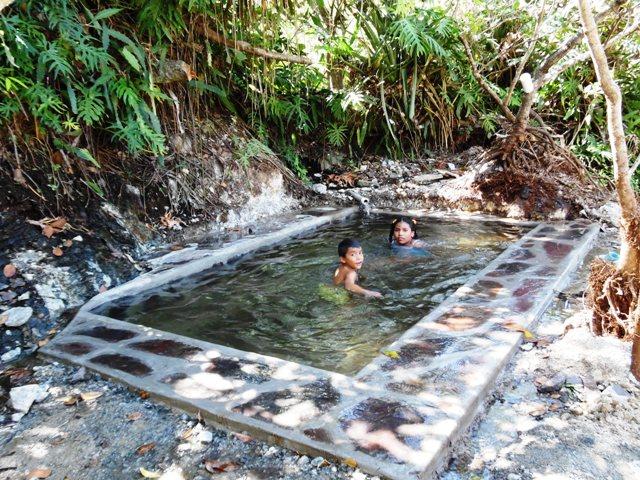 Hot water springs Don Alfonso en Nicaragua