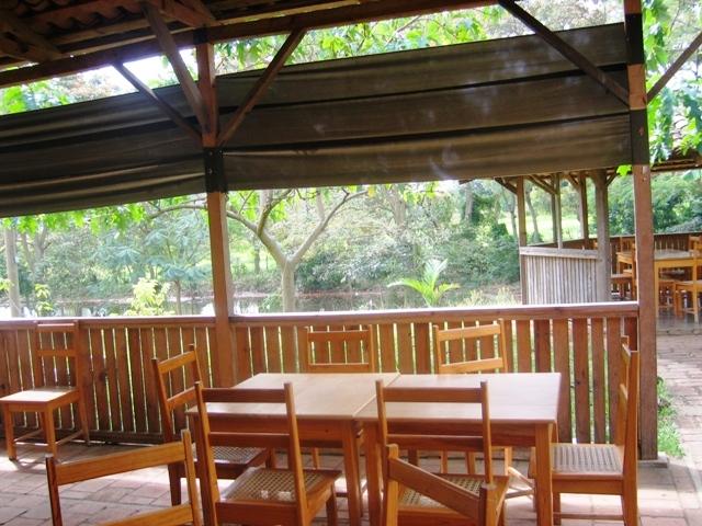 Restaurant of Hotel el campestre el Pantano en Jalapa, Nicaragua
